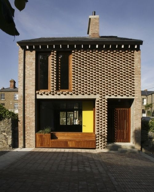 Brick House Addition In Dublin: Exterior Ideas: 12 Brightly Colored Front Doors