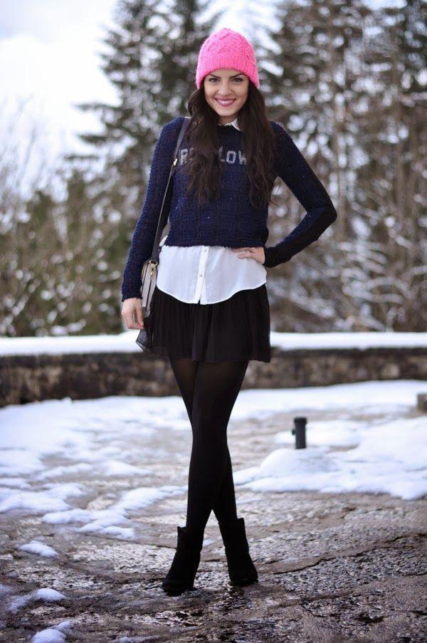 En Una Vestir 17 Invierno Maneras Sencillas Ideas Con Falda De Muy gqwIY