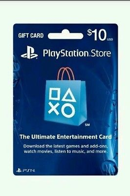 $10 PSN Gift Card US PS4 PS3 PS VITA [digital delivery] Worldwide ...