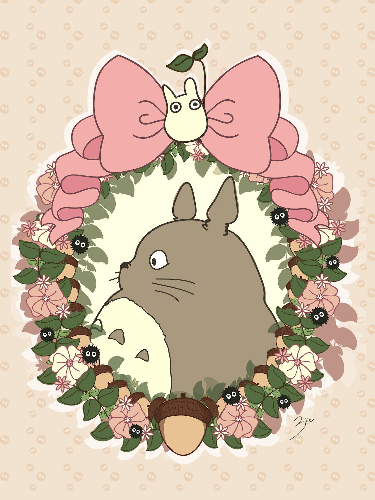 ...Curiously Lost... ⚓ Totoro dibujo, Estudio ghibli