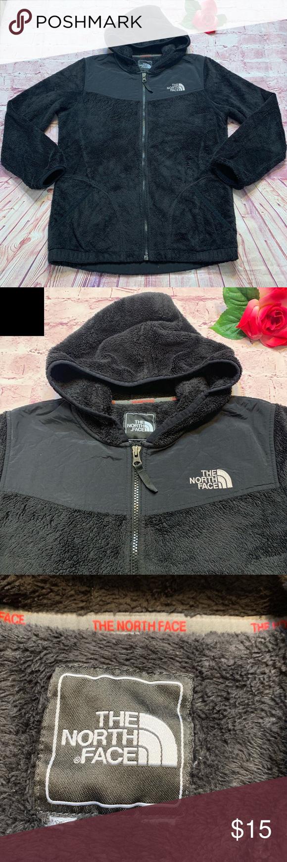 The North Face Womens Large Xl Black Fleece Jacket North Face Women Black Fleece Jacket Black Fleece [ 1740 x 580 Pixel ]