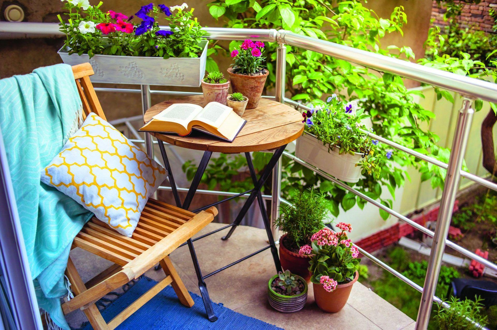 Дизайн Маленького Балкона: 190+ (Фото) Интерьеров для ...