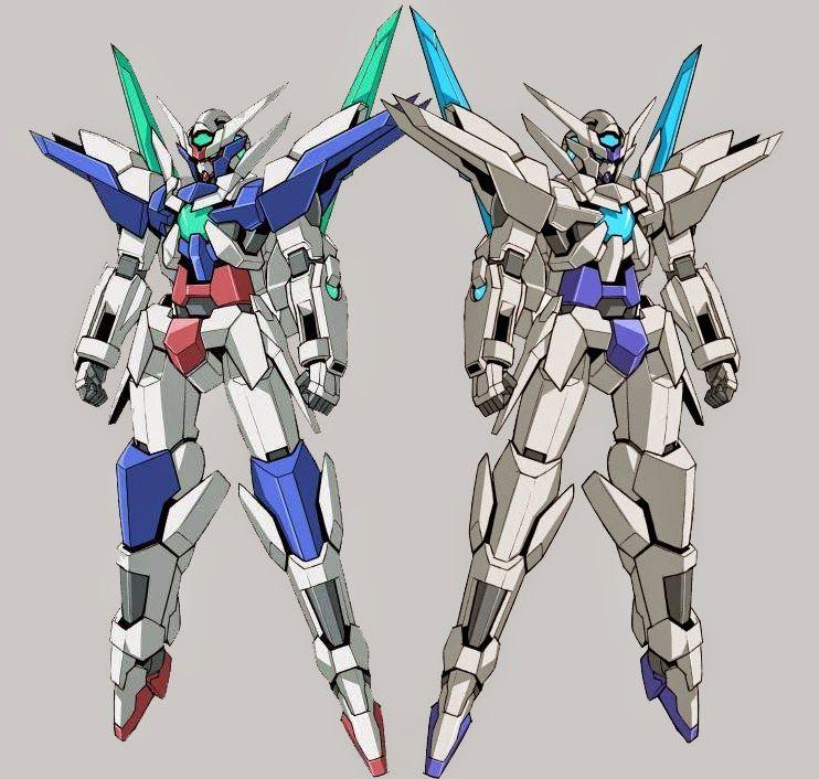 Gn 9999 transient gundam which one do you prefer for Portent gundam hg