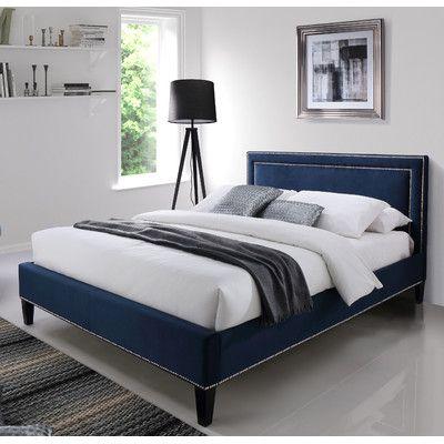 Exceptional Home Loft Concept Ocean Upholstered Bed Frame Cool Beds, Velvet Upholstered  Bed, Upholstered Bed