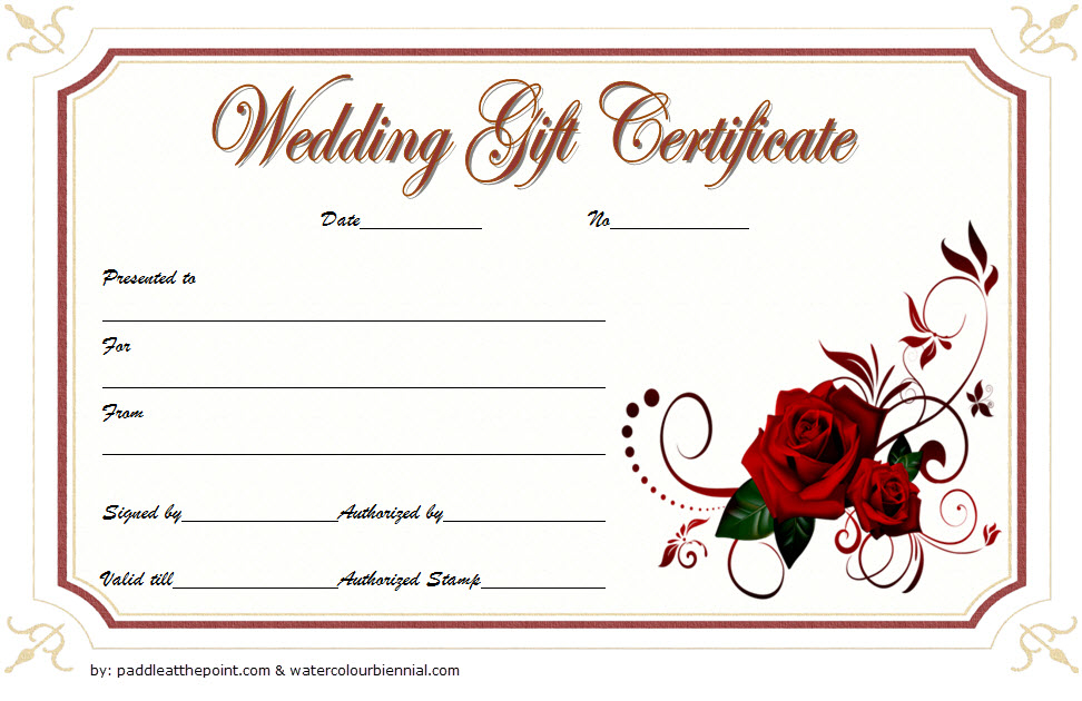 Pin On Gift Certificate Template Word Intended For Free Wedding Gift Ce In 2021 Free Gift Certificate Template Gift Certificate Template Word Gift Certificate Template
