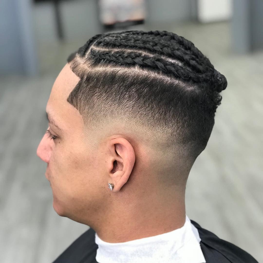 Simple Braid Fade Simplehairstylesformen Braid Styles For Men Braided Hairstyles Best Braid Styles