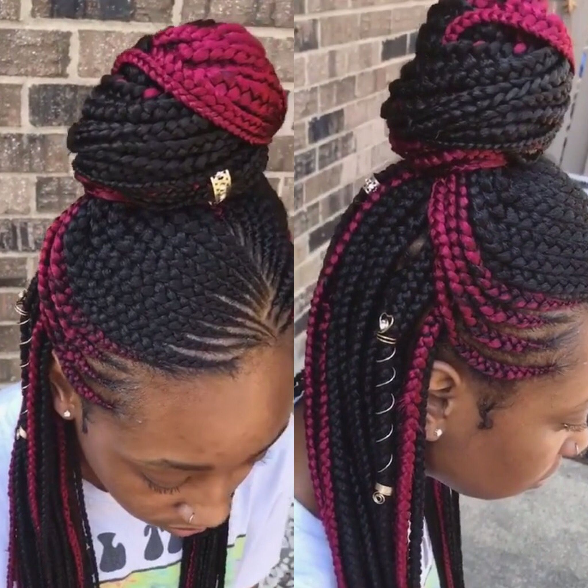 Pin by Kimberly Hodges on Braids Pinterest Braids Braided