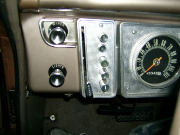 We had a Plymouth Valiant with a push-button transmission