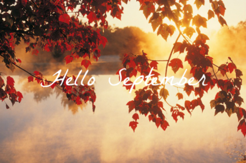 Charmant Hello September Month September Hello September September Quotes