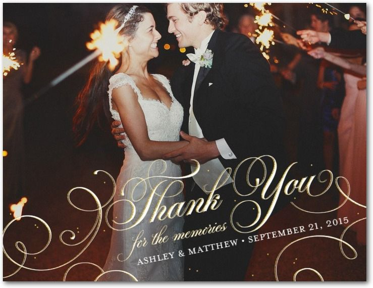 Wedding thank you cards etiquette examples