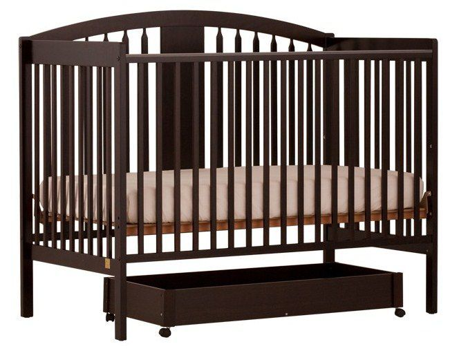Stork Craft Stork Craft Hollie Fixed Side Convertible Crib ...