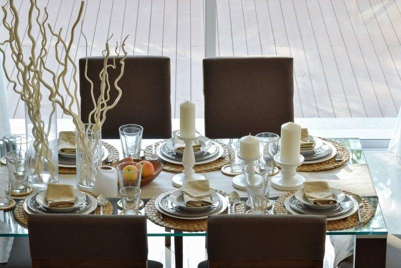 27 Modern Dining Table Setting Ideas Modern Dining Table Dining Table Setting Modern Dining