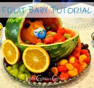 Fruit Baby Tutorial - Little Creative Corner