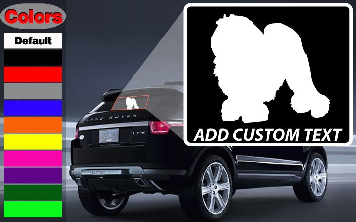 Norwich terrier dog wall decal vinyl decal car decal