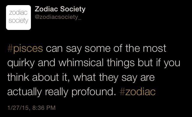 Pisces Zodiac Facts Httpzodiacsocietytumblr I Am What I Am