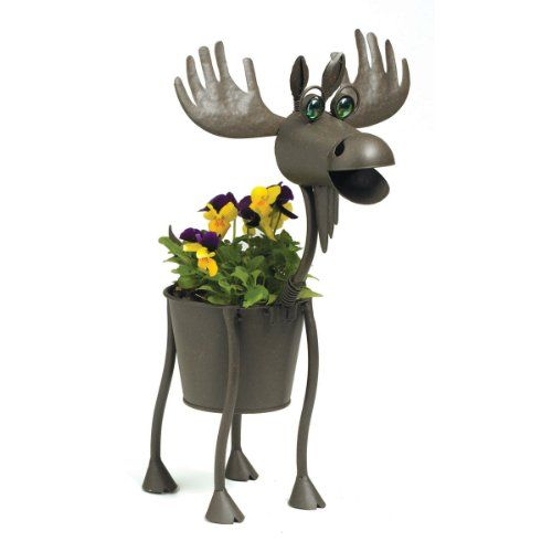 Georgetown Home And Garden Hal The Moose Planter, Mini Georgetown Home U0026  Garden Http: