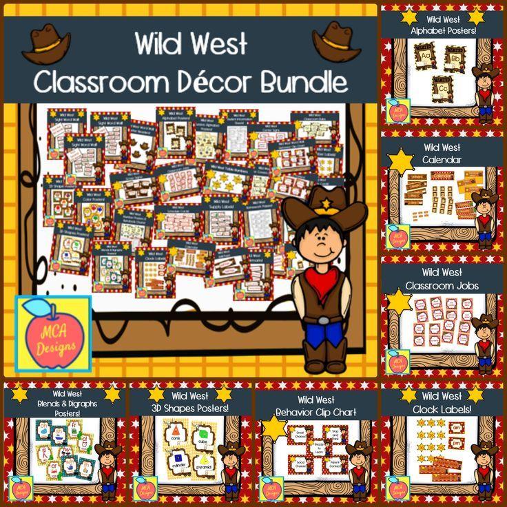 Wild West – Classroom Decor Ultimate Bundle