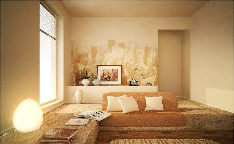 color calido como esl amarillo para los muebles y las paredes 2 - colores calidos para salas