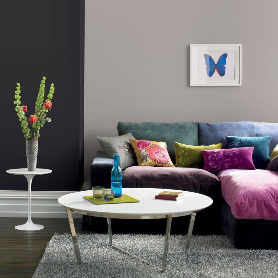 The Best Grey Paint For Walls As Chosen By Ideal Home S Editors And Interior Design Experts Colourful Living Room Home Decor Dark Living Rooms