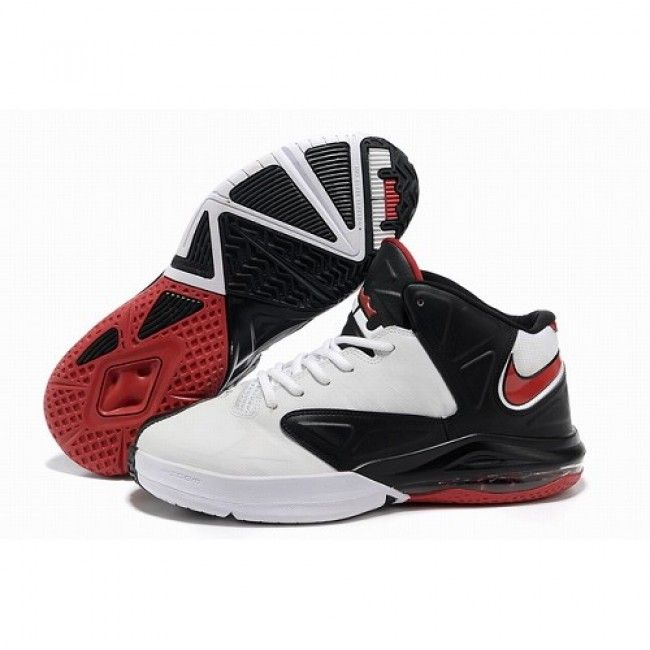 For Sale Nike Air Max Lebron Ambassador V 5 White Black Red Men Basketball 1d9839779