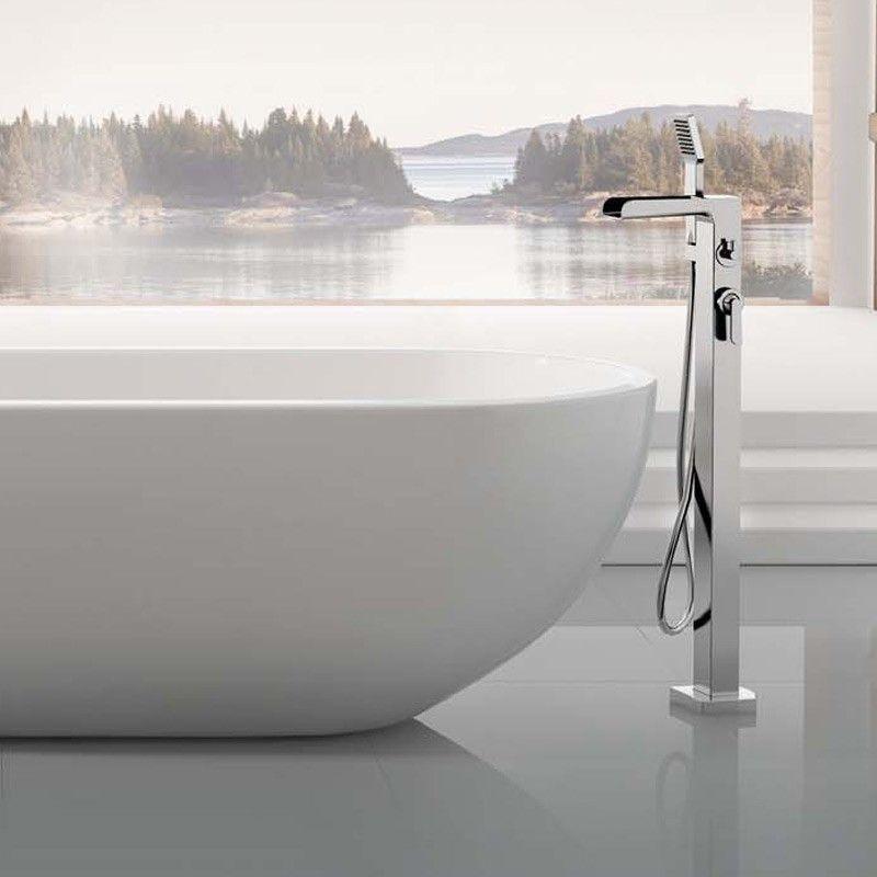 robinet de baignoire mitigeur cascade