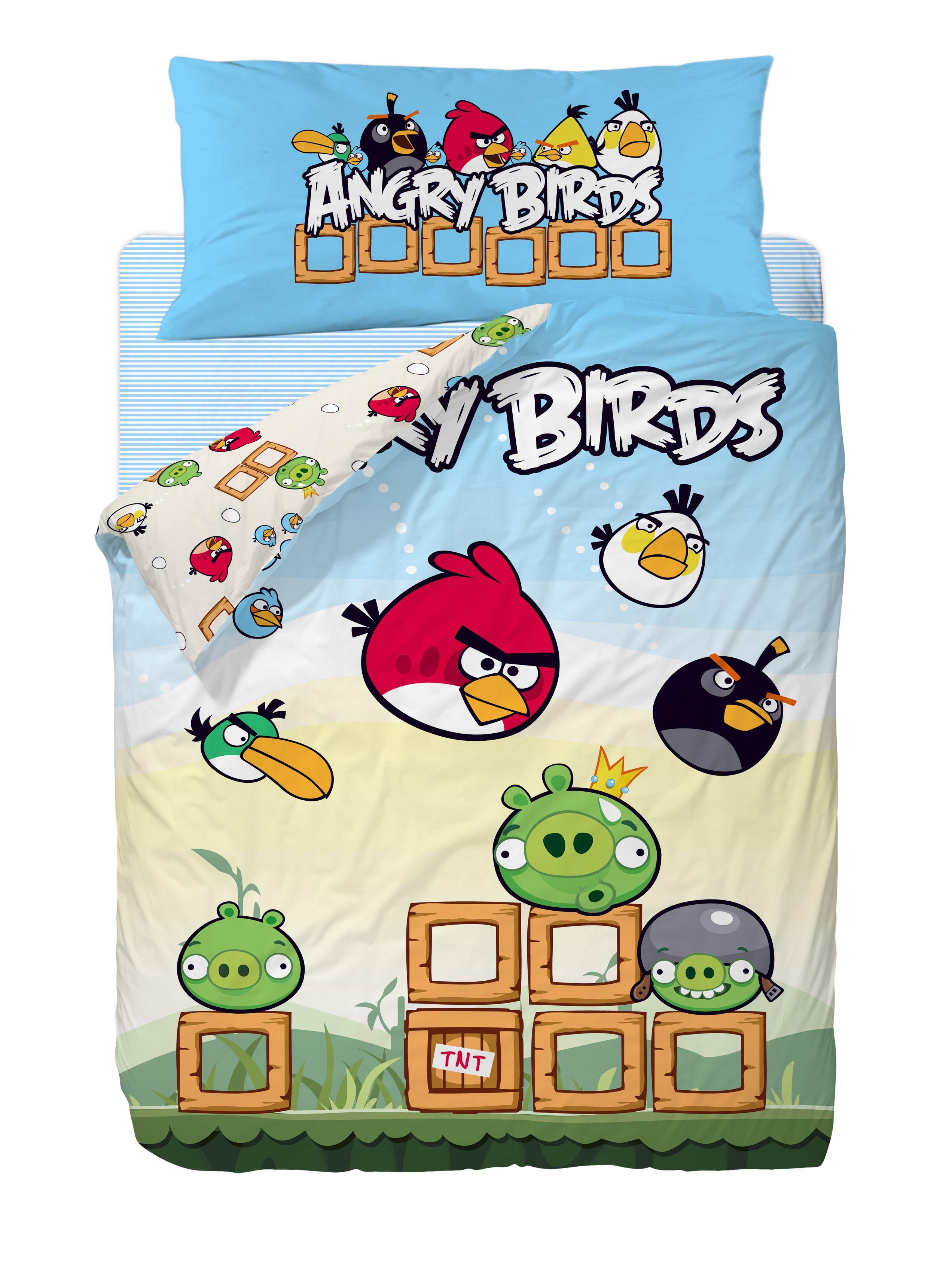 Funda Nordica Angry Birds   Fundas Nordicas Disney   Pinterest