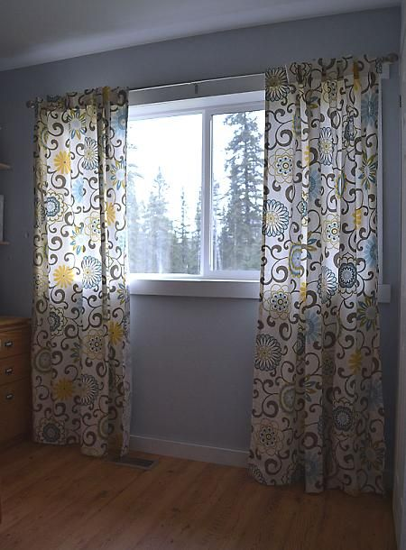 Tab Top Curtain Tutorial