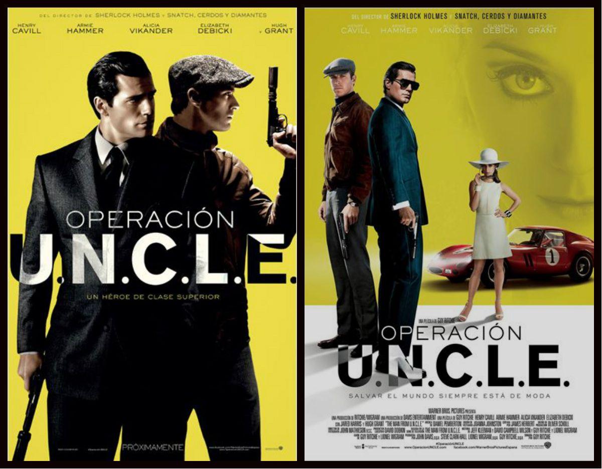 Operación U.N.C.L.E. (2015) TeleCine  Narra las aventuras de un dos agentes secretos, uno ruso y otro estadounidense, durante el periodo de la guerra fría