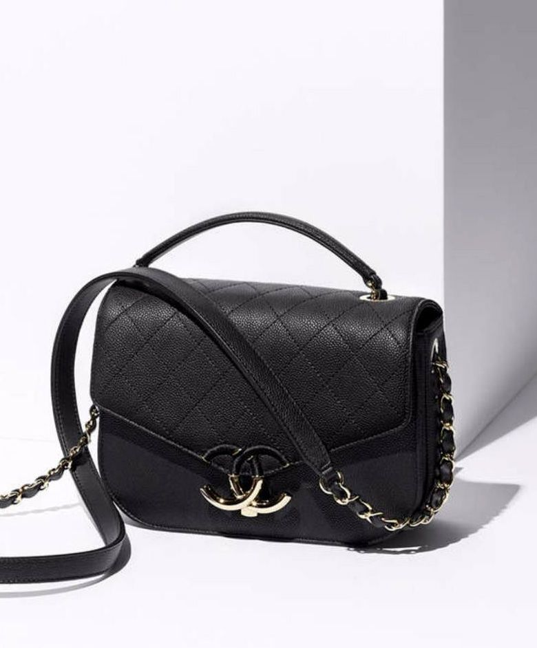 9ebea31b03 Chanel Flap Bag in Black. 2017 New Chanel Spring  Summer Collection ...