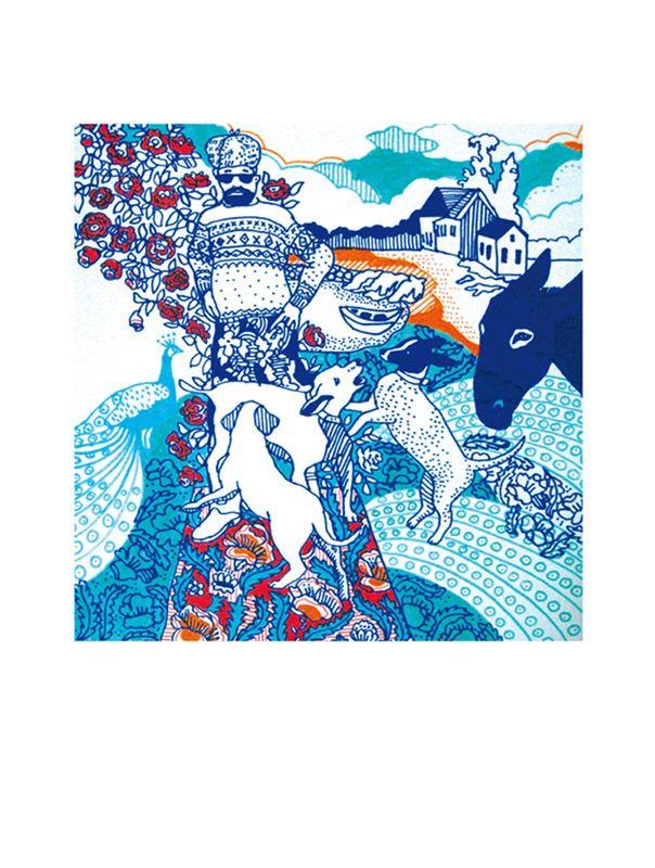 Nordeste - Illustration réalisée par Mélodie Baschet - 18 x 24 cm - Signée et numérotée - Tirage limité à 50 ex. - En exclusivité chez L'illustre Boutique