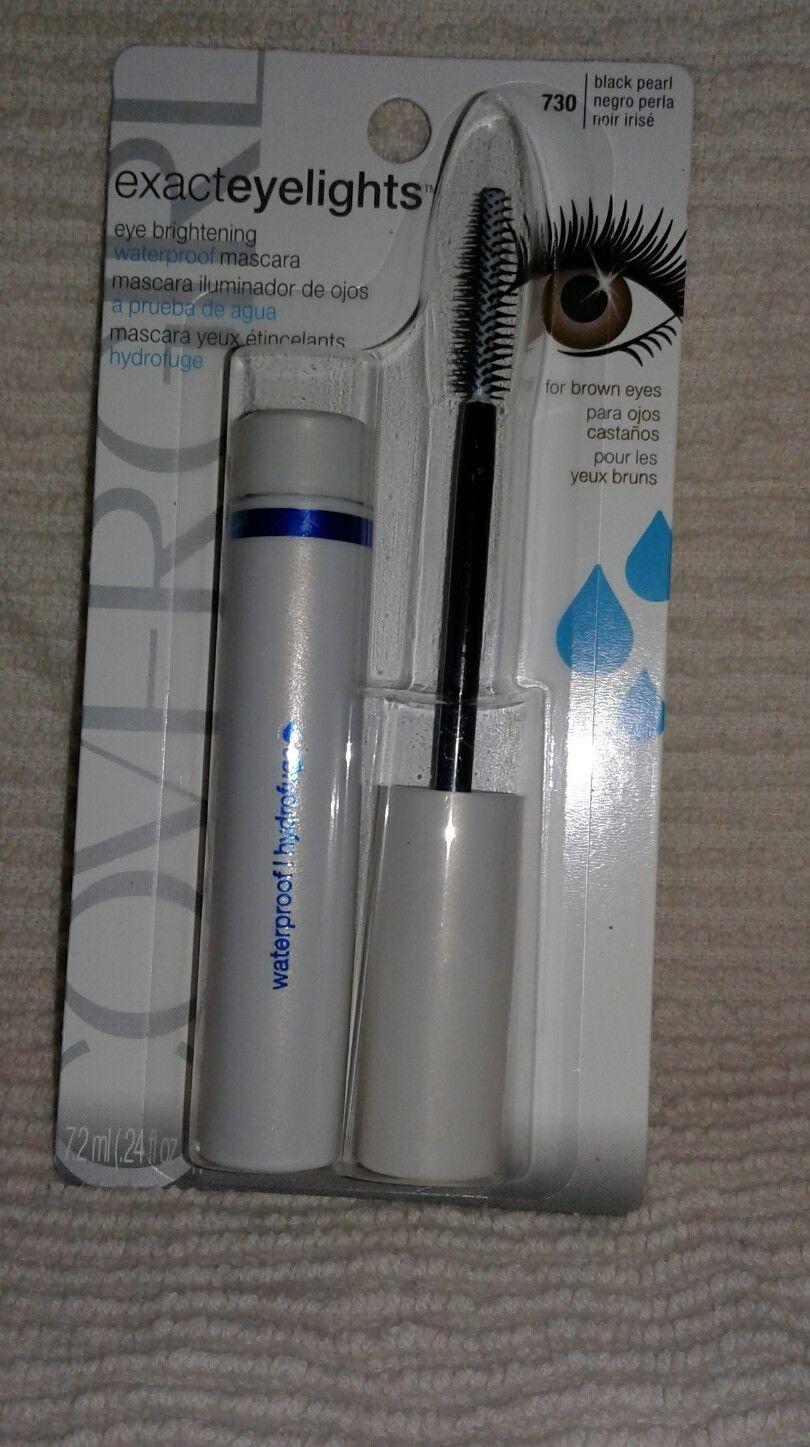 21ee2d937eb CoverGirl exact eyelights waterproof mascara for brown eyes 730 black pearl