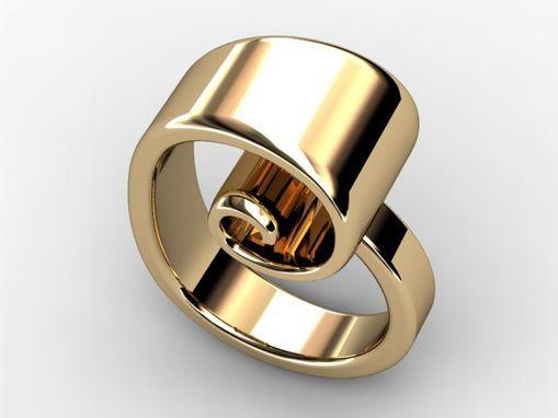 Custom Made Fibonacci Spiral Ring