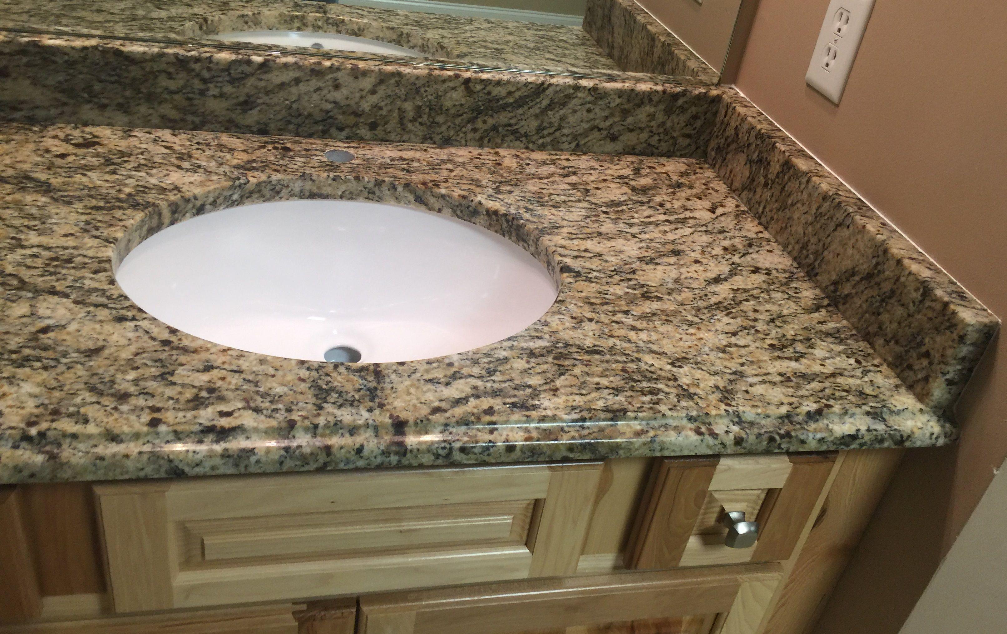 - Type Of Job:Vanity Top Material: Granite Color: Santa Cecilia