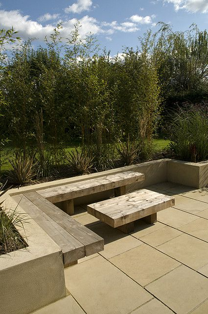 The Modern Family Garden by Earth Designs. www.earthdesigns.co.uk. London Garden Design and landscape build. by Earth Designs - Garden Design and Build, via Flickr