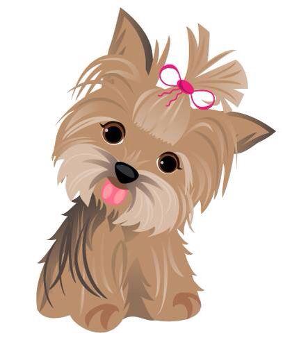 Yorkie Cartoon Dog Drawing Dog Art Cute Dogs