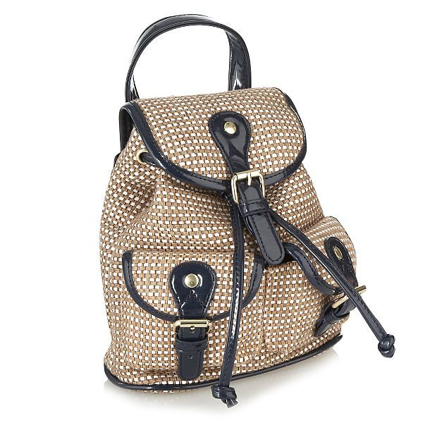 42a8031cfd Straw backpack for the summer. | LOOKS | Bags, Backpacks, Backpack bags