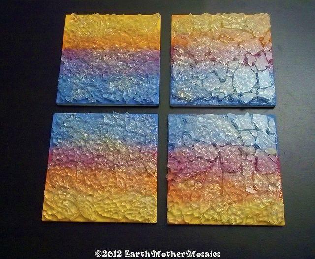 Sunset coasters -WIP | Flickr: Intercambio de fotos