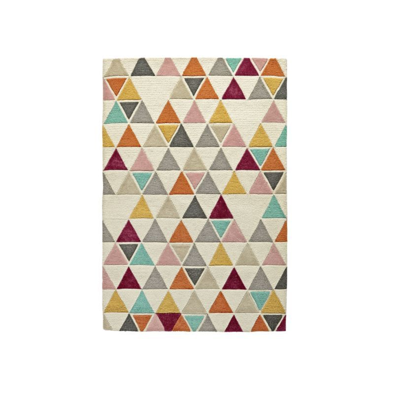 5 X 8 Triangle Rug Reviews Crate And Barrel Triangle Rug Floral Rug Rugs