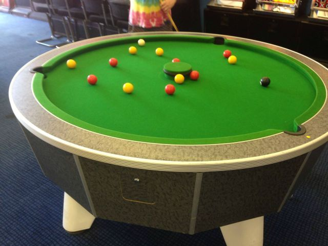 Attractive STRANGE TOYS AND GAMES   HOW ABOUT THE NEW POOL TABLE   ITu0027S ROUND!