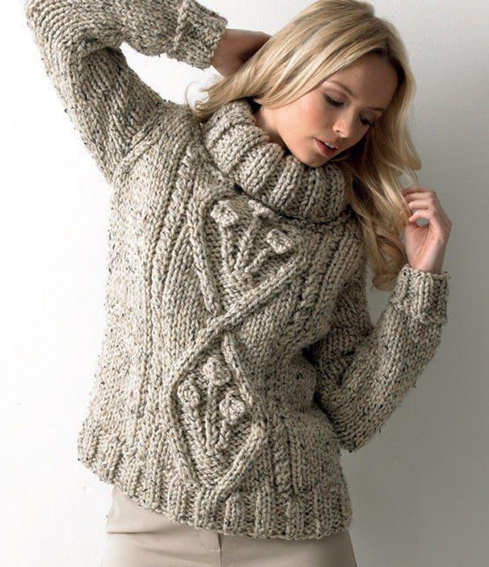 chunky sweater - 1 | Slope style Fashion | Pinterest | Fashion