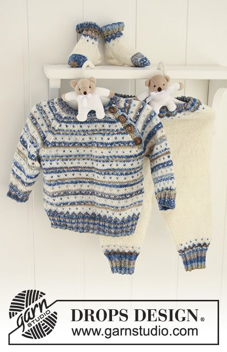 Photo of Hello Stripes / DROPS Baby 19-3 – Kostenlose Strickanleitungen von DROPS Design