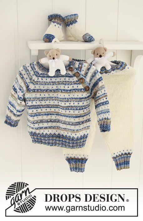 Patrón gratuito de punto | tejidos | Pinterest | Patrones, Puntos y Bebe