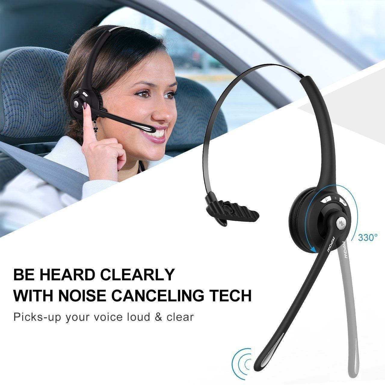 best wireless headset for truck drivers