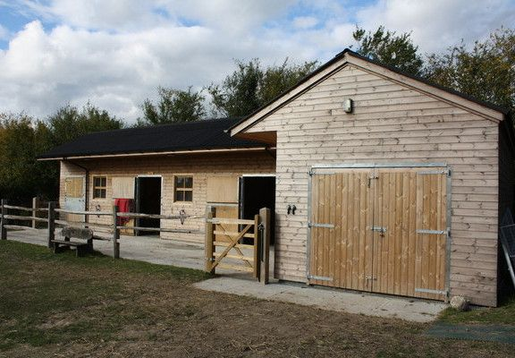 Bungalow stables or garage self build timber frame house design solo timber frame