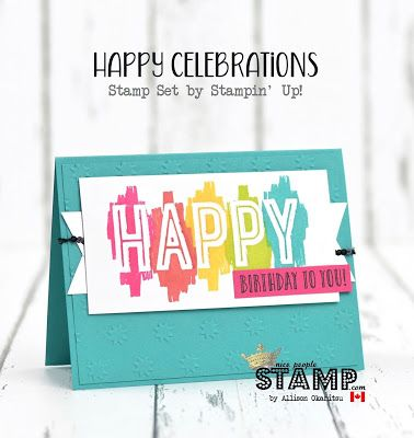 Nice people stamp happy celebrations card wvideo and online class happy celebrations card wvideo and online class bookmarktalkfo Image collections