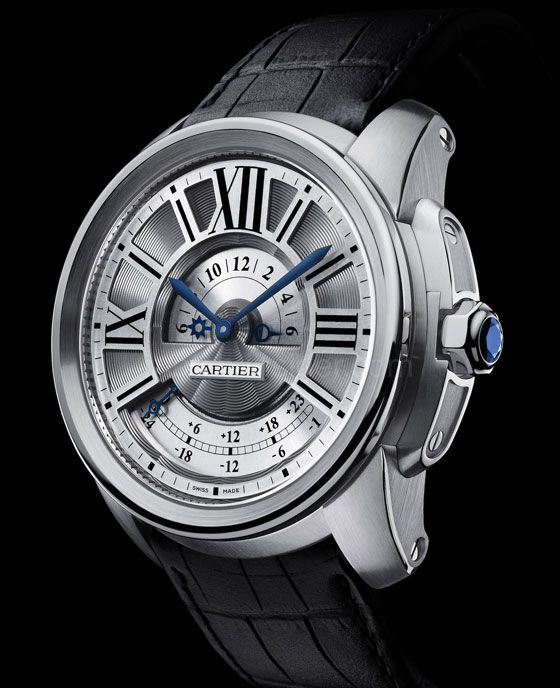 Cartier Calibre de Cartier Multiple Time Zone Watch