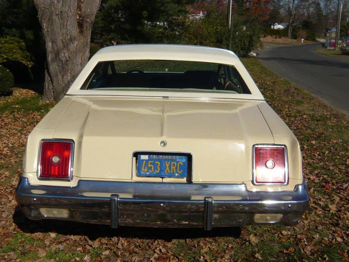 1979 Chrysler Cordoba Crown Coupe Chrysler Cordoba