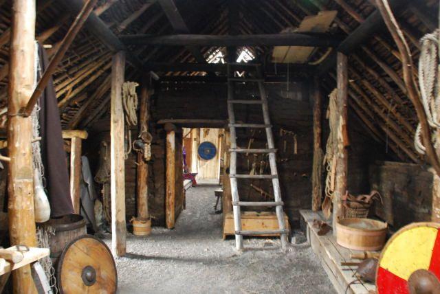 Inside A Sod House Sod House Inside Viking House House Inside