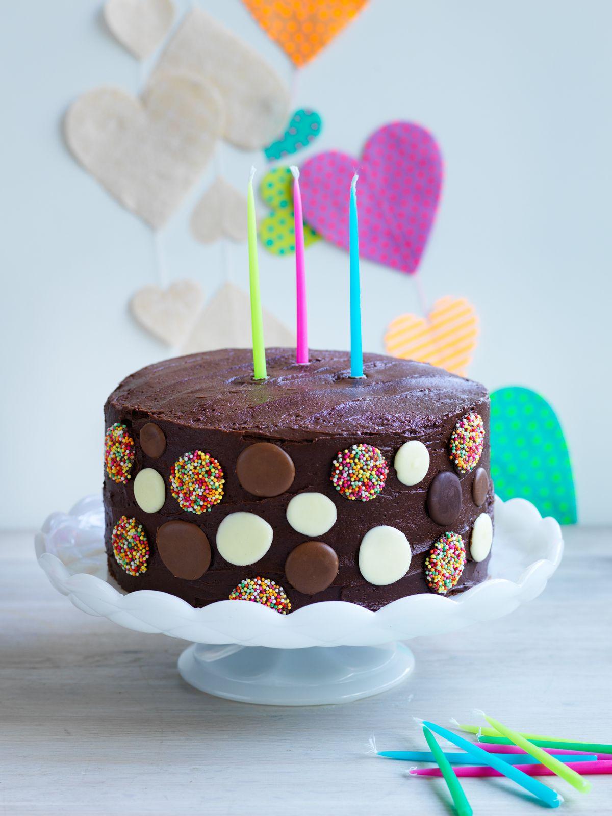 Recipes Polka Dot Cake Louise Fulton Keats Kids Party Food