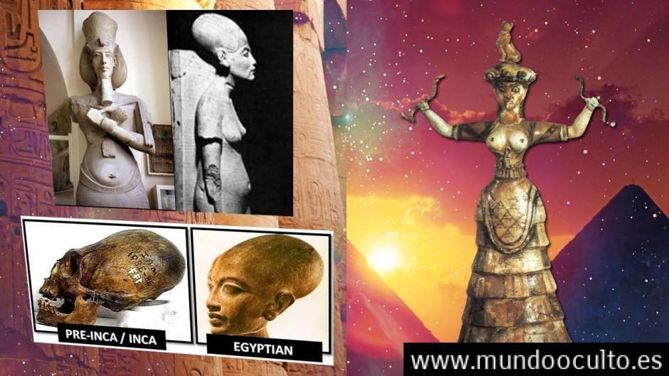 Son los Egipcios descendientes de una cultura madre Desconocida?